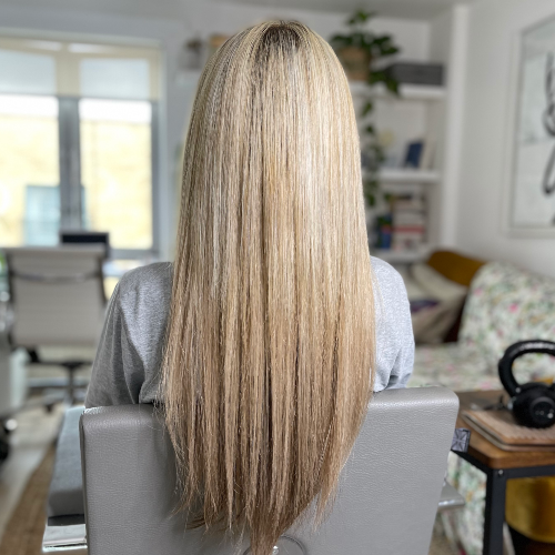 Microrings hair extensions London after